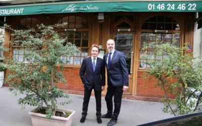 Hippisme : Eric Saint Martin, l'ex jockey est à présent patron de restaurant